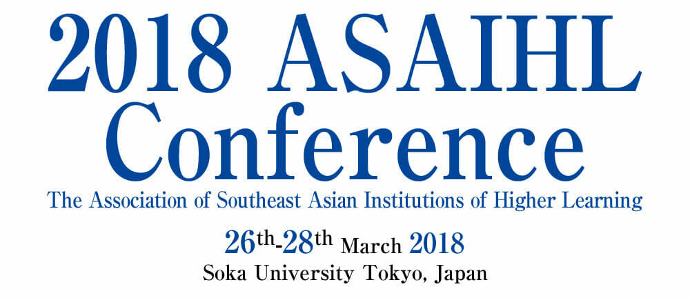 2018 ASAIHL conference