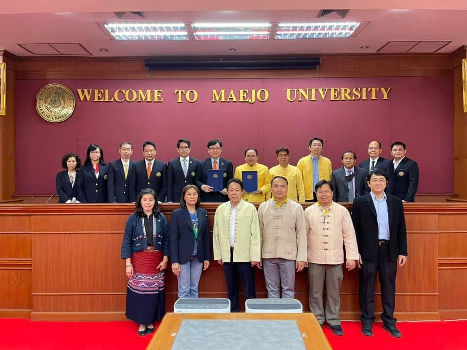 MOU signing with Maejo University